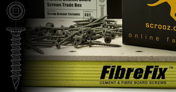 FibreFix Fibre Cement Board Screws