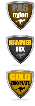 Nylon Hammer Fixings