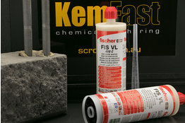 Kemfast epoxy chemical anchor cartridge 380ml