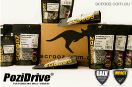 PoziDrive Galvanised MP Screws Bulk Box Bundle
