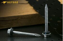 14g x 100mm Razr Roofing Screws Timber CL4 pack 25