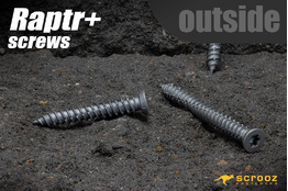 Raptr plus concrete screws 100mm grab pack of 20