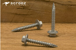 12g x 30mm Razr Hex Head Screws CL4 GAL pack 100