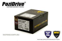 8g x 45mm PoziDrive twinthread Screws CSK box 500