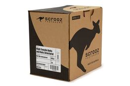 M20 x 120mm Structural Bolts GAL Trade Box of 20