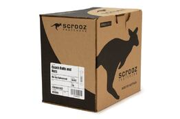 M12 x 200mm Carriage Bolts GAL Trade Box of 25