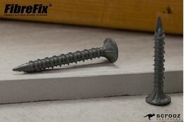 8g x 32mm FibreFix Cement Board Screws pack 100