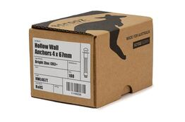 Hollow Wall Anchors 5 x (5-17) 59mm trade box 100