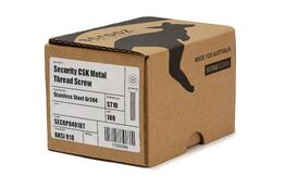 Security CSK metal thread ST10 M3 x 20mm box 100