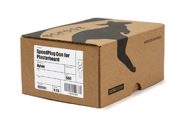 SpeedPlug contract plaster fixings plastic box 500